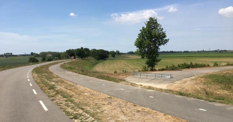 Vernieuwde aansluiting Zeedijk/Kalverdijk